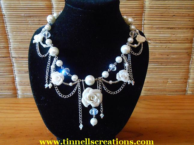 Beaded Diana Necklace
