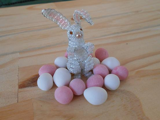 3D Beaded Easter Bunny