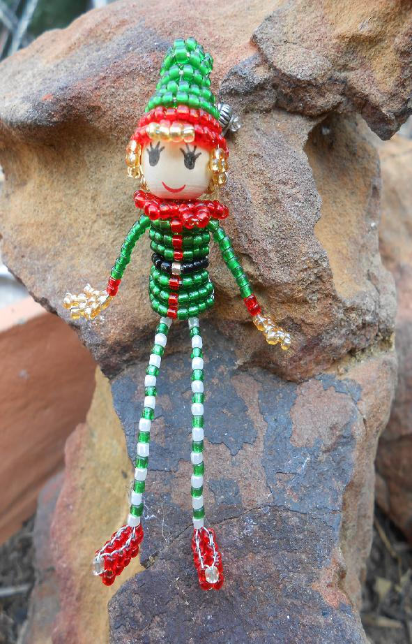 3D Beaded Elf Tutorial